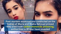Post mortems confirm faulty gas heater caused deaths of Preston sisters in Pakistan