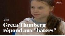 """Au Forum de Davos, Greta Thunberg répond aux """"haters"""" avec des chiffres implacables"""