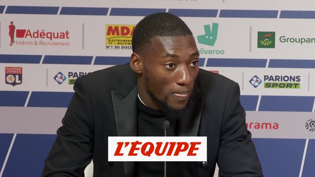 Ekambi «J'ai hâte de commencer» - Foot - L1 - OL