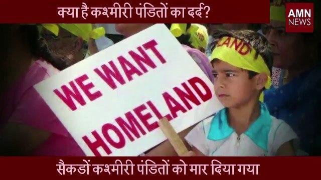 Exodus of Kashmiri Pandits from Jammu and Kashmir | कश्मीरी पंडितों की असली कहानी | AMN News