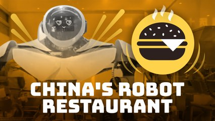 China's all-robot restaurant