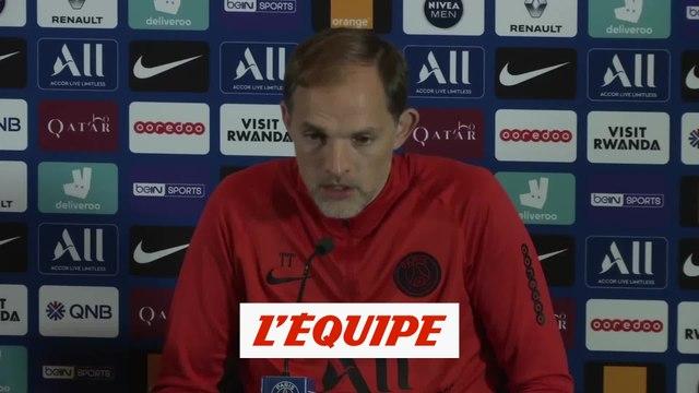 Tuchel «On ne veut pas perdre un joueur mais...» - Foot - CdL - PSG