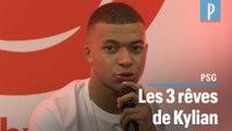 Mbappé rêve d'un triplé « Euro, JO, Ligue des champions »