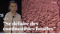 A Davos, Greta Thunberg lance un appel contre « les combustibles fossiles »