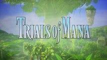 Trials of Mana - Présentation de Hawkeye et Riesz