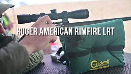 First Look: Ruger American Rimfire LRT