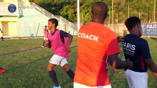 Le directeur technique en visite à l'Academy Antilles
