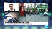 Antisémitisme en France : 34% des juifs se sentent régulièrement menacés