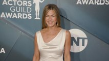 Jennifer Aniston and Brad Pitt at the 2020  Screen Actors Guild Awards