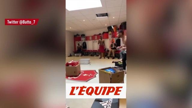 Samuel Grandsir piégé par un coéquipier - Foot - WTF