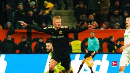Bundesliga: Erling Haaland, all 3 goals in his debut with Borussia Dortmund