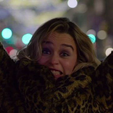 Exclusive: Emilia Clarke and Henry Golding Can't Keep It Together in Last Christmas Bloopers