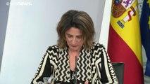 """El Gobierno español declara la """"emergencia climática"""" en plena emergencia por la borrasca Gloria"""