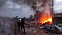Rusya'nın İdlib Gerginliği Azaltma Bölgesi'ndeki hava saldırılarında 26 sivil öldü