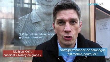 Municipales 2020 à Nancy : Mathieu Klein fait ses premières propositions