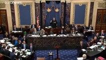 Bataille réglementaire lors de l'ouverture du procès en destitution de Donald Trump