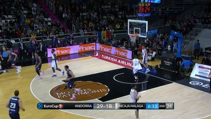 7Days EuroCup Highlights Top 16, Round 3: Andorra 88-92 Unicaja