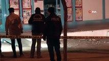 Arnavutköy'de bir markete el yapımı patlayıcı atıldı
