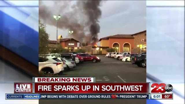 Southwest Structure Fire