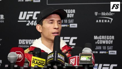 UFC 246: Joseph Benavidez guest fighter interview
