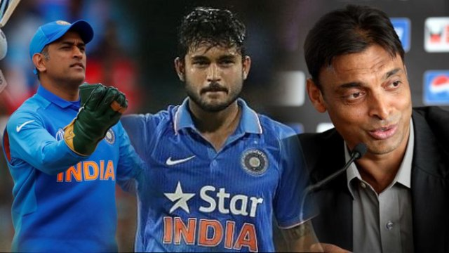 Indian team MS Dhoni's Replacement, Says Shoaib Akhtar