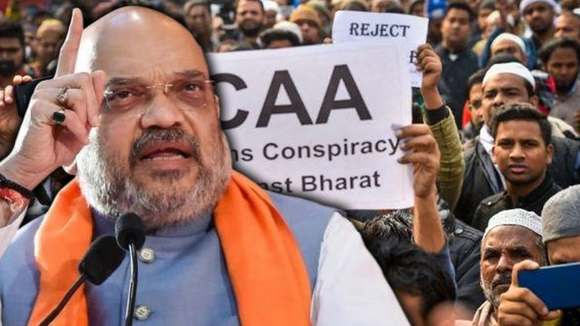Amit Shah says that they will never revoke CAA