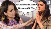 Kangana Ranaut Demands Apology From Deepika Padukone