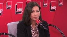 """Anne Hidalgo, maire de Paris, sur le maintien de l'ordre à Paris : """"Il y a un problème d'augmentation de l'insécurité à Paris, il faudrait que le ministre de l'intérieur regarde de plus près ce qui se passe à la Préfecture de police"""""""