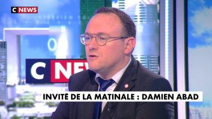 Damien Abad - CNews mercredi 22 janvier 2020