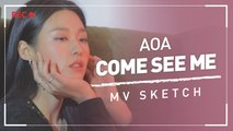 [Pops in Seoul] Come See Me ! AOA(에이오에이)'s MV Shooting Sketch