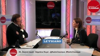 Ségolène Royal - L'invité politique Mercredi 22 janvier