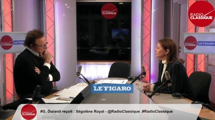 Ségolène Royal - Radio Classique mercredi 22 janvier 2020