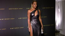 "Khloé Kardashian ""Abyss by Abby's Goddess Within Collection Launch"" Red Carpet"