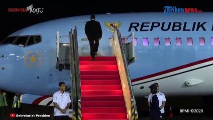 Presiden Jokowi Tiba di Tanah Air usai Lawatan ke Abu Dhabi