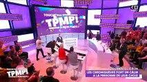 """Un long baiser avec la langue entre Isabelle Morini-Bosc et Gilles Verdez dans """"TPMP"""" surprend Cyril Hanouna et les téléspectateurs de l'émission - VIDEO"""