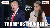 Thunberg vs Trump: A trillion trees is 'not enough'