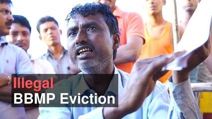 Illegal BBMP Demolition Episode 1: Kariyammana Agrahara