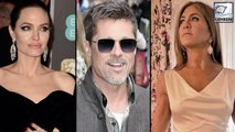 Angelina Jolie's Reaction To Brad Pitt's & Jennifer Aniston Reunion