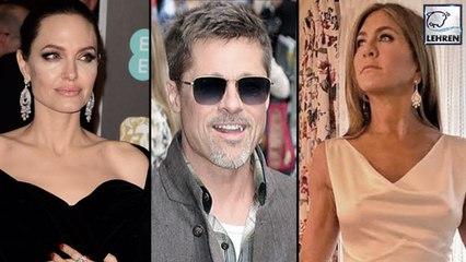 Angelina Jolie's Reaction To Brad Pitt's & Jennifer Aniston Reunion