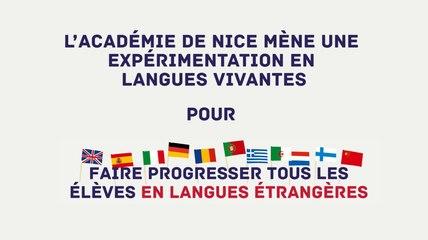 #PlanLangues Expérimentation au collège Henri Matisse de Nice
