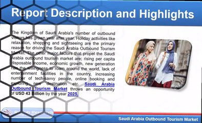 Saudi Arabia Outbound Tourism Market will be USD 43 Billion by 2025