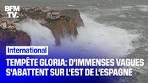 Tempête Gloria: d'immenses vagues s'abattent sur l'est de l'Espagne