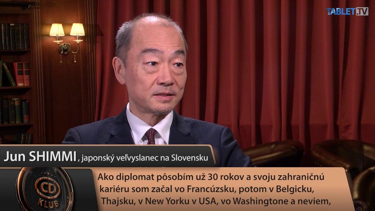 CD Club: Japonský veľvyslanec Jun Shimmi