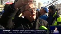"""Pour Jean-Luc Mélenchon, les nouvelles actions contre la réforme des retraites """"prolongent"""" la grève"""