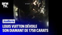 Louis Vuitton a présenté Sewelô, son diamant de 1758 carats
