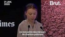 """Davos : """"Votre inaction alimente les flammes à chaque heure"""", a déclaré Greta Thunberg"""