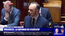 """Pour Édouard Philippe, le comportement de ceux qui ont provoqué les coupures sauvages d'électricité """"n'est pas acceptable"""""""