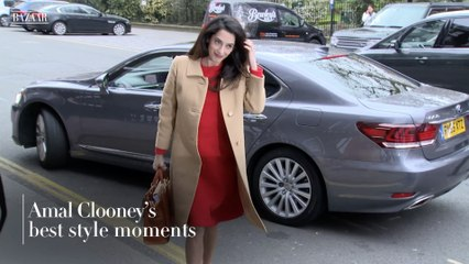 Amal Clooney's best style moments