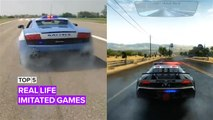 Top 5 times real-life was imitated in video games