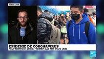"""Coronavirus en Chine : """"les autorités ont parlé de développer une culture du masque"""""""